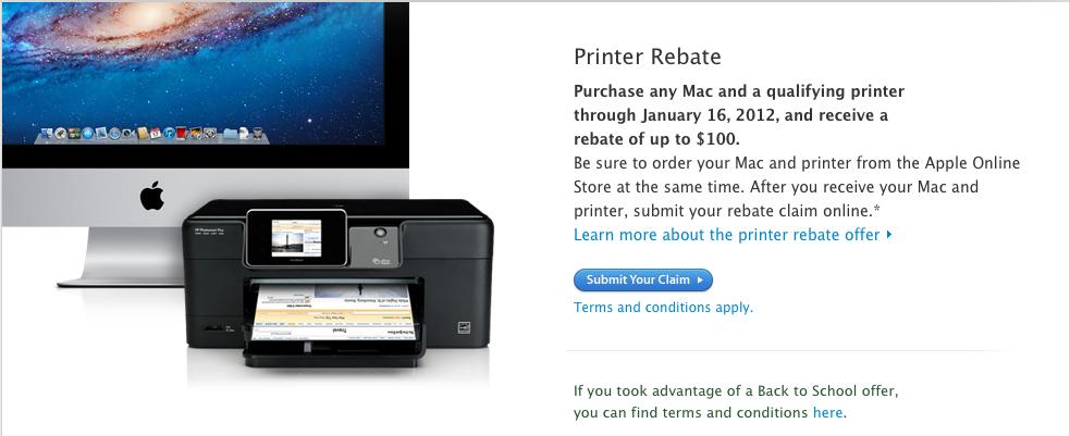 Apple Elimina El Descuento Sobre Las Impresoras En Estados