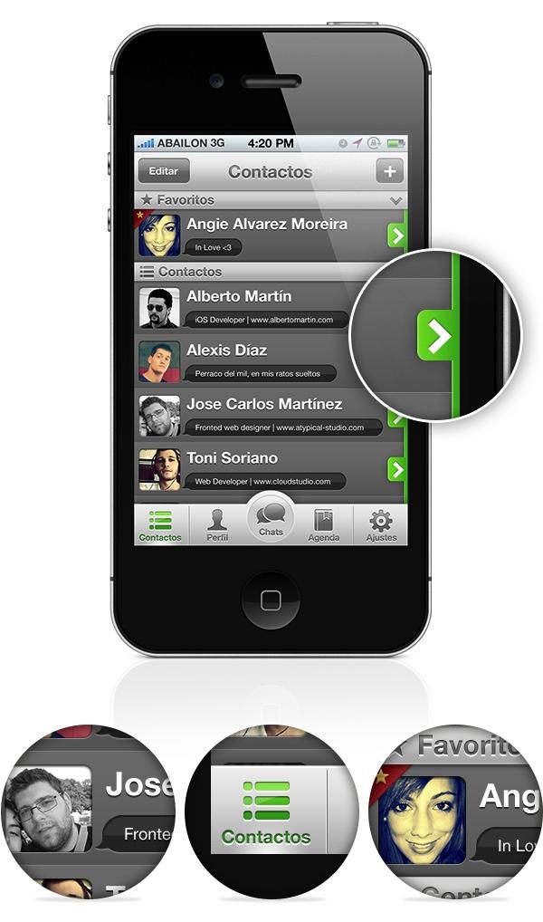 Nuevo WhatsApp contactos