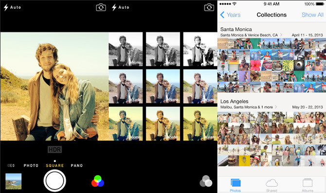iOS Cámara