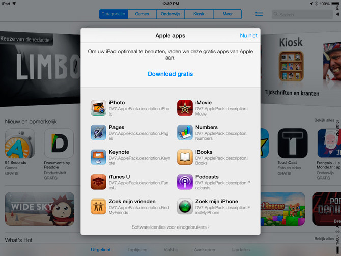 iWork y iLife gratis App Store