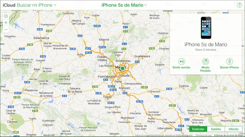 Localiza tu iPhone