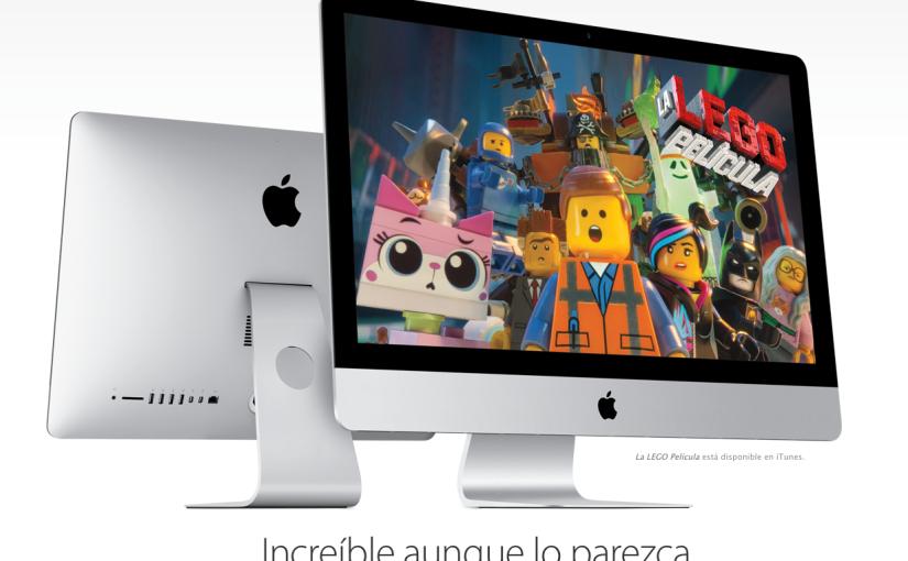 Apple lanza un nuevo iMac másbarato
