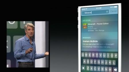 Spotlight en iOS 8