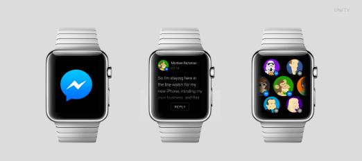 Apple Watch Messenger
