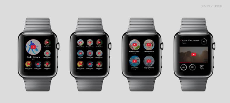 Apple Watch Youtube
