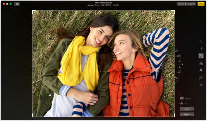 Fotos para Mac Editor