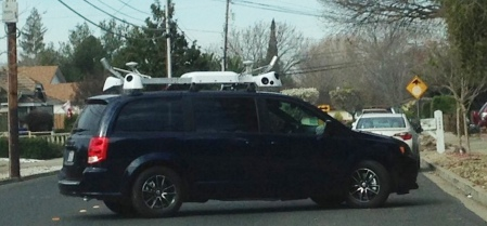 Minivan Apple Street View