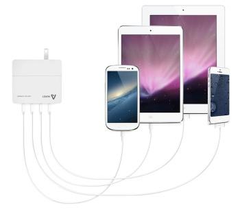 Aukey DCA-4U dispositivos