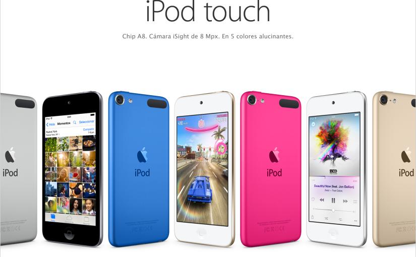 Los nuevos iPod ya estánaquí