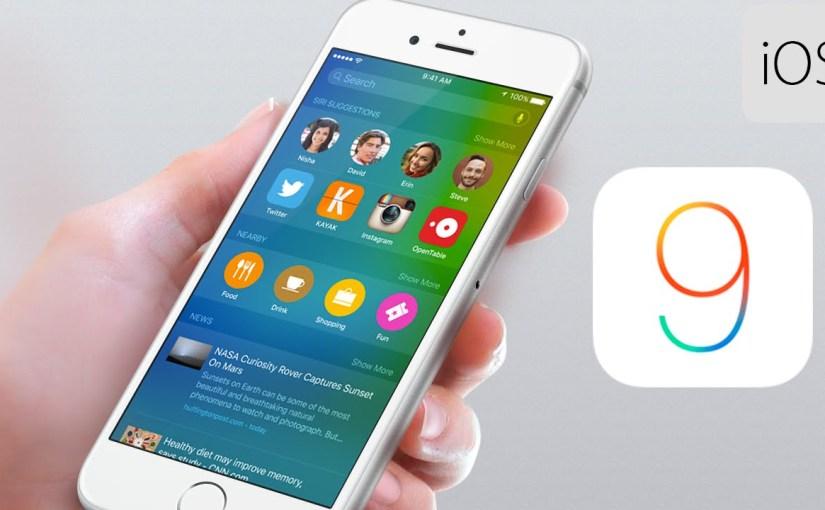 Apple lanza iOS 9 de formaoficial