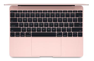 MacBook Oro Rosa teclado