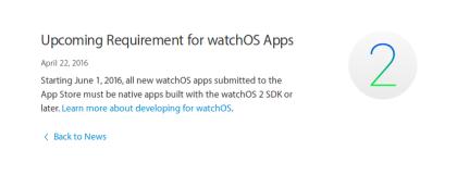 watchOS 2 aplicaciones nativas
