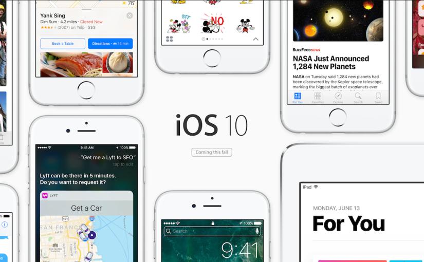 iOS 10 Beta 2 deja partes sincifrar