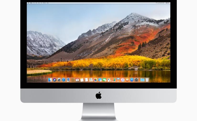 macOS High Sierra, más cerca de la unificación de los sistemasoperativos