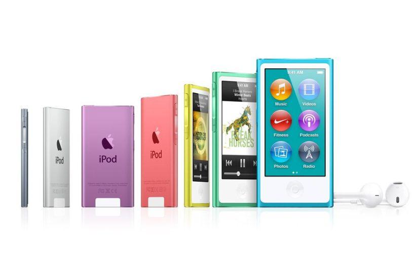 Adiós iPod. Apple elimina los iPod nano yshuffle