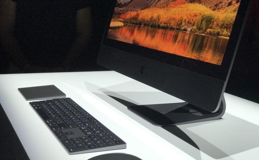 El iMac Pro incorporaría el procesador A10 deApple
