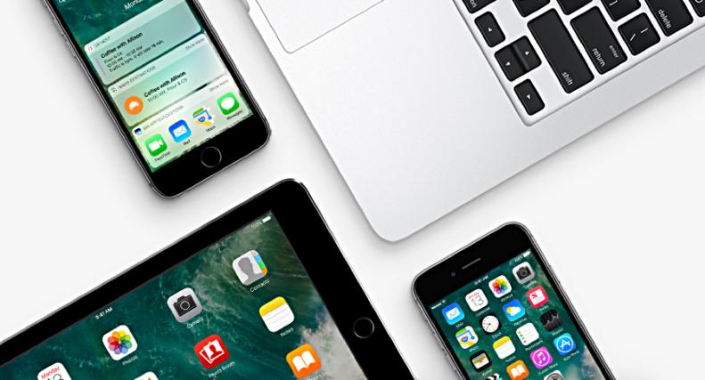 iOS 10 iPad iPhone MacBook