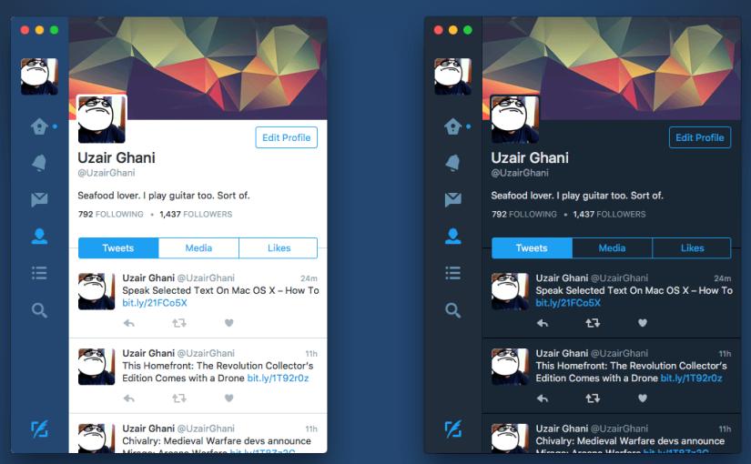 Twitter dice adiós a su aplicación paramacOS