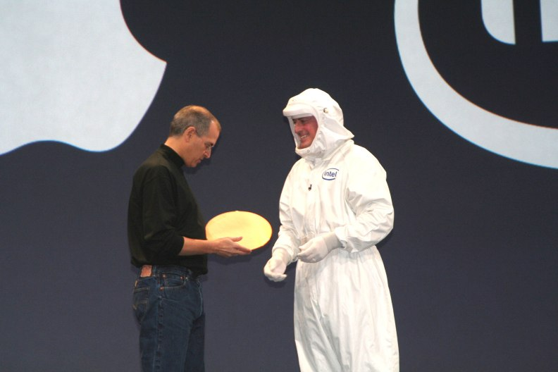 Steve Jobs & Paul Otellini