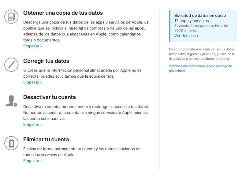 Apple ID Data & Privacy