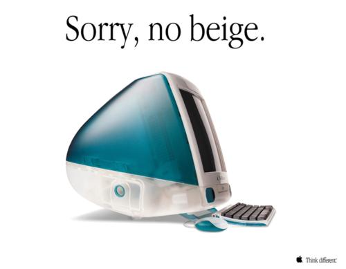 iMac G3 Sorry, no beige