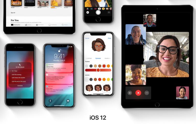 iOS 12 cover