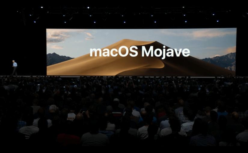 macOS 10.14 Mojave, el lado oscuro de lafuerza