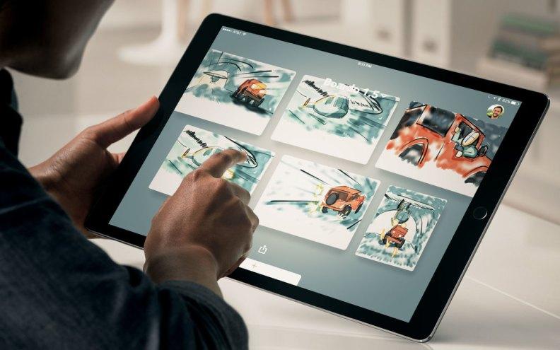 iPad Pro Photo Editing