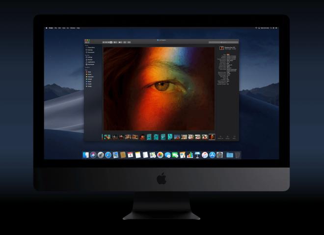 iMac Pro macOS 10.14 Mojave