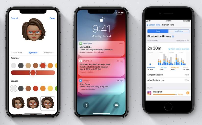 Apple lanza iOS 12.0.1 con corrección defallos