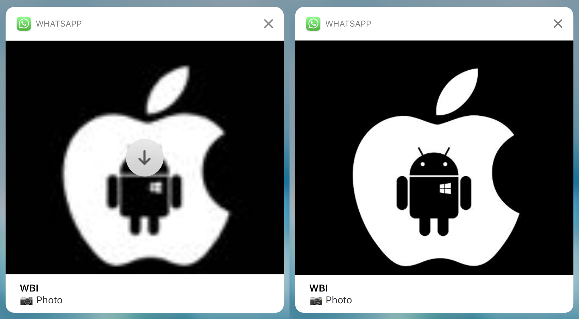 WhatsApp Notification iOS 11 2.18.90 (2)