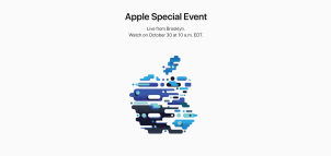Apple Event Oct 30 - 3