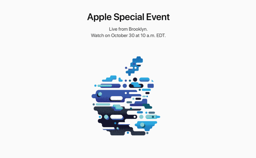 Apple confirma la próxima Keynote para el 30 deoctubre