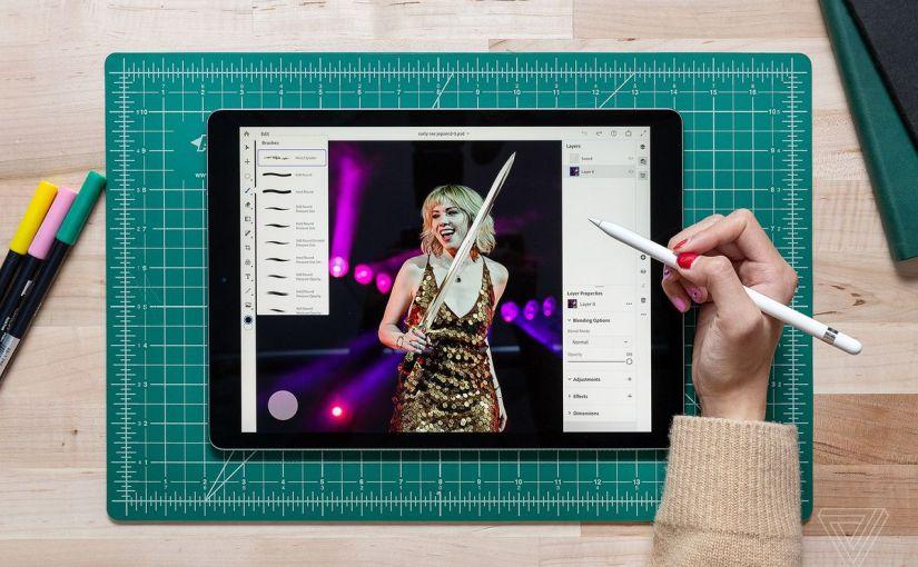 La versión completa de Photoshop llegará al iPad en2019