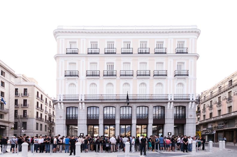 Apple Store Puerta Del Sol inauguración