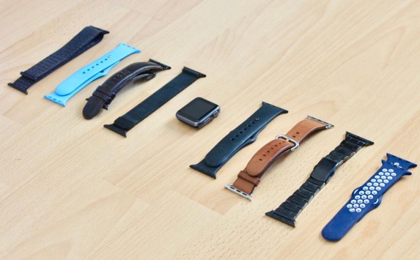 Correas del Apple Watch, siempre a lamoda