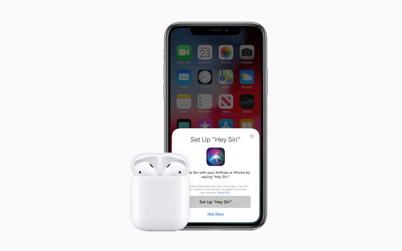 AirPods 2 Apple Oye Siri
