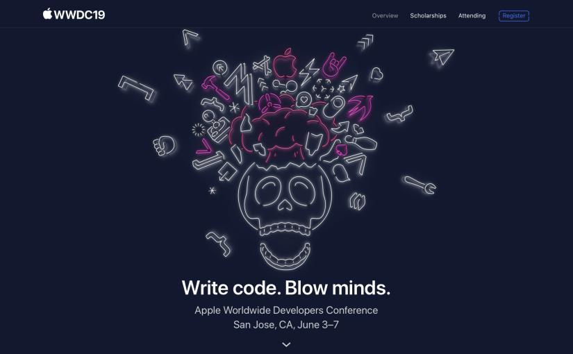 Es oficial, la WWDC 2019 será del 3 al 7 dejunio