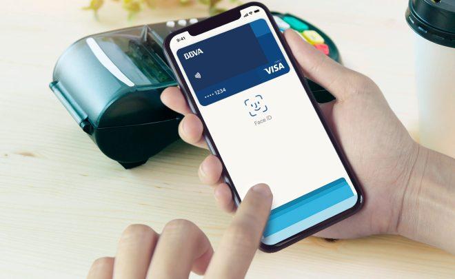 BBVA Apple Pay Face ID