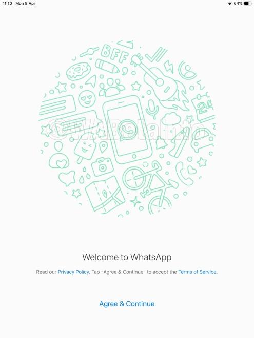 WhatsApp iPad - 10