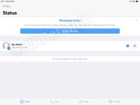 WhatsApp iPad - 11
