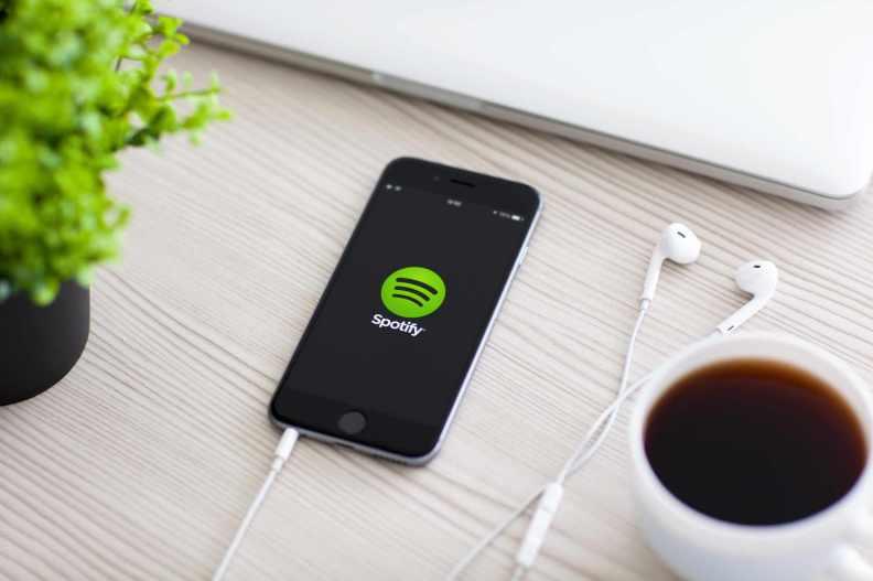 iPhone Spotify Headphones