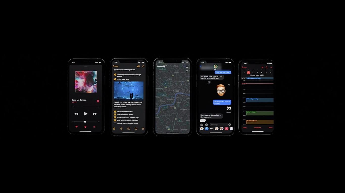 iOS 13 Dark Mode - 3