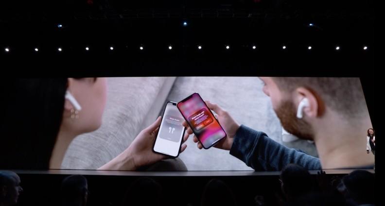 iOS 13 Share Music AirPods